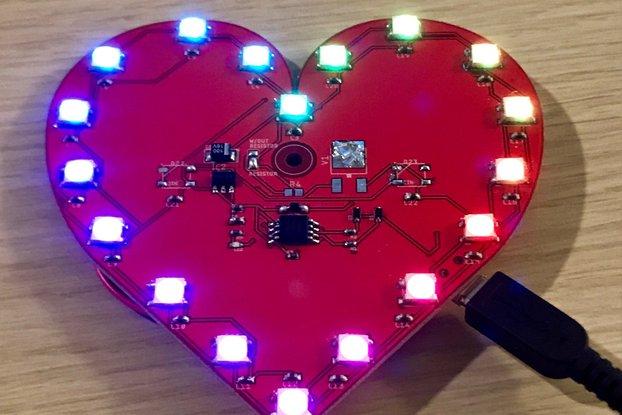 PCB Heart