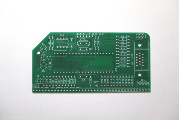 Graphics Video Card PCB for RC2014