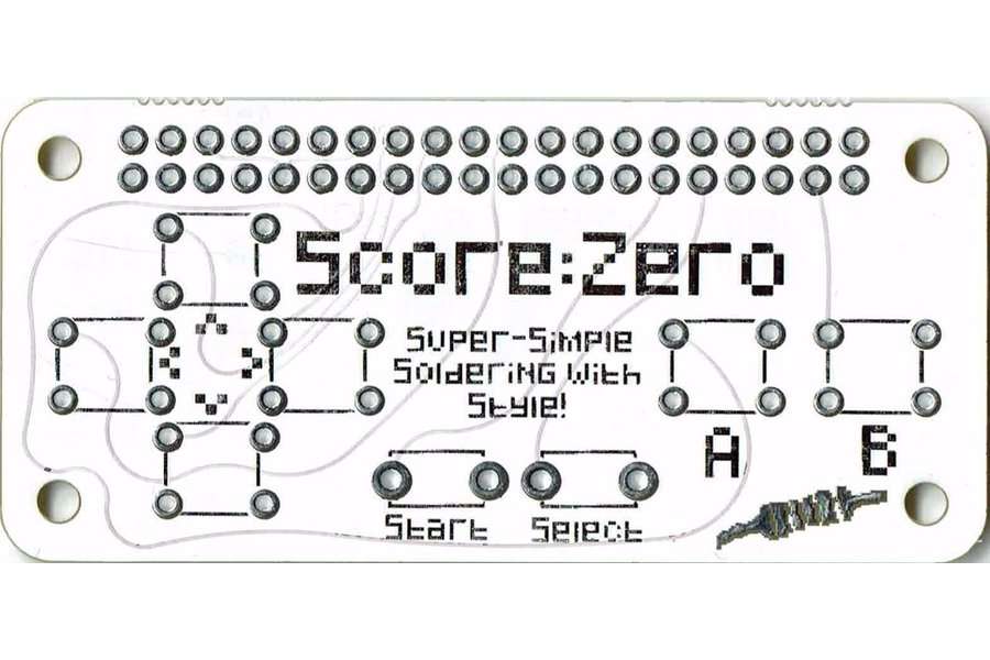 Score:Zero pHAT for Raspberry Pi