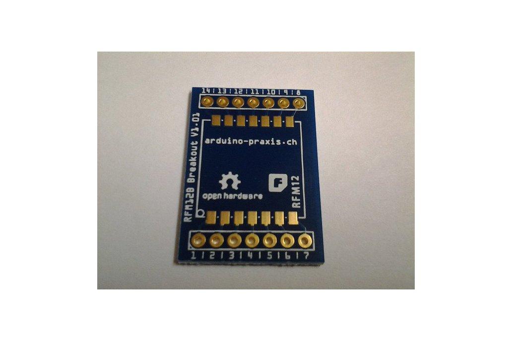RFM12B Breakout Board 1