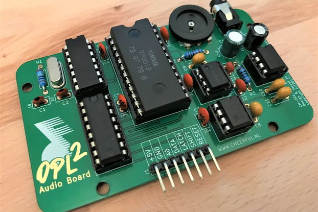 OPL2 Audio Board