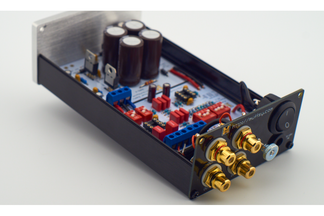 Muffsy Phono Preamp Back Panel 4