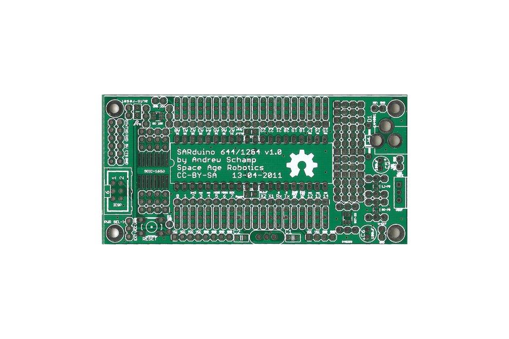 SARduino644 v1.0 PCB 1