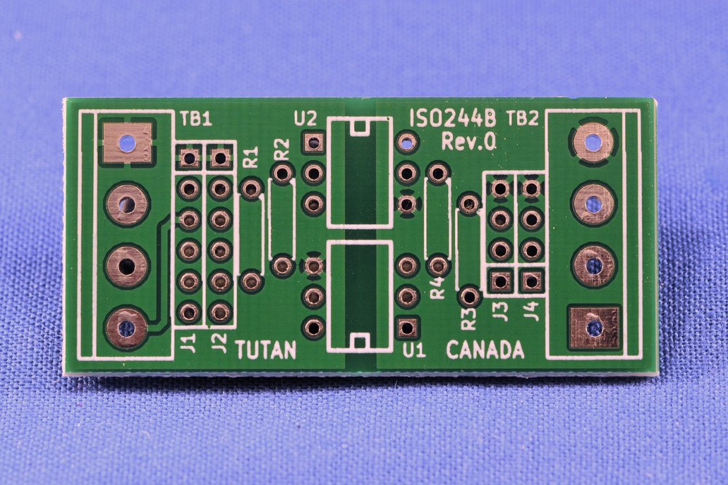 ISOLATED 2 Channel TTL Serial Adapter - ISO244B 1