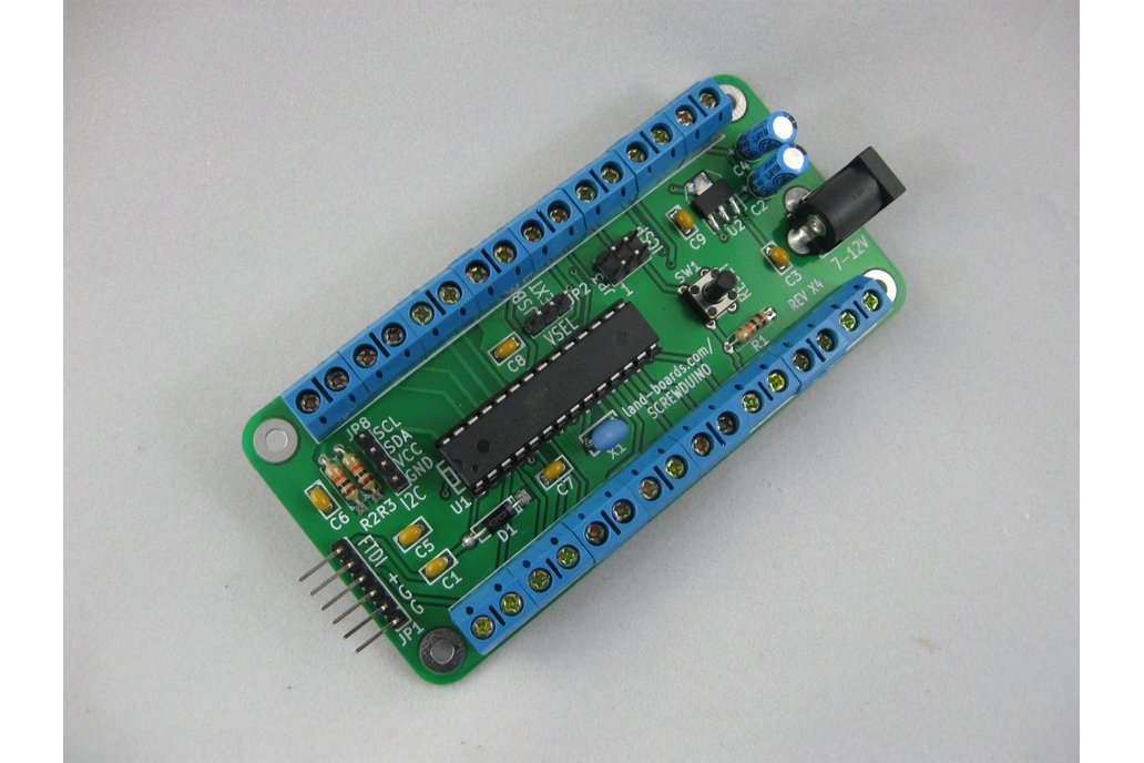 Arduino with screw terminals (Screwduino) 2