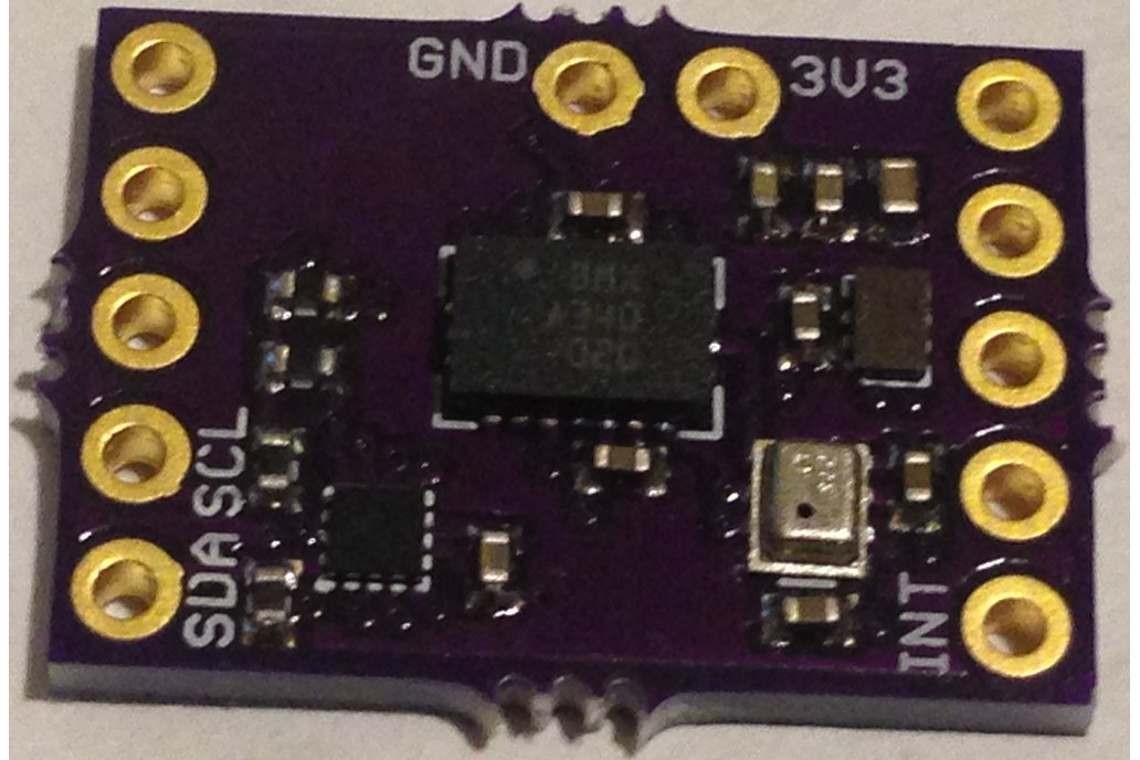 EM7180 SENtral Sensor Hub  + 9 DoF Motion Sensor 1