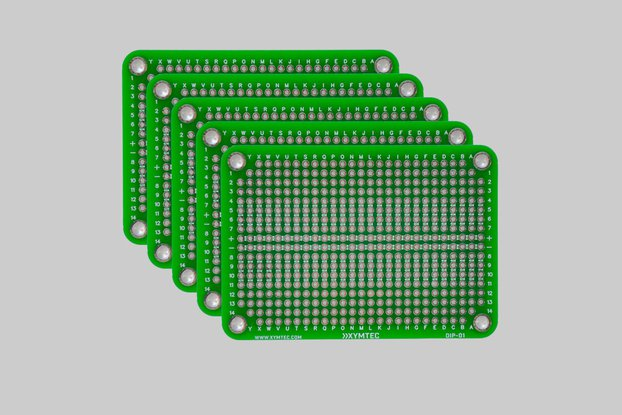 DIP IC Small Prototype PCB 5 Pack