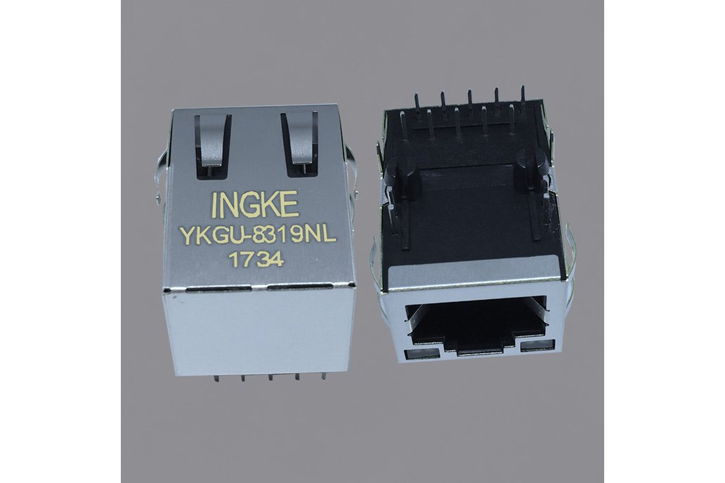 7499111447 Gigabit  RJ45 connector with magnetics 1