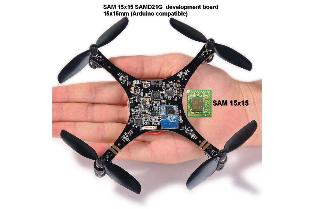 SAM 15x15 Arduino Zero compatible SAMD21 board 6