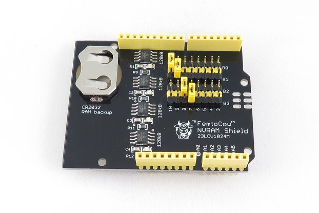 SPI RAM Shield for Arduino