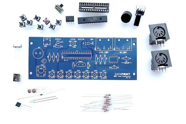 Build you own MIDI Keyboard Controller