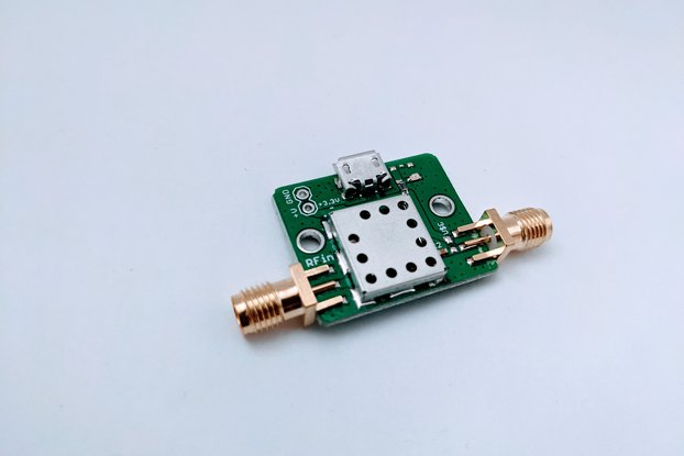 433 MHz Filtered Low Noise Amplifier LNA 20 dB