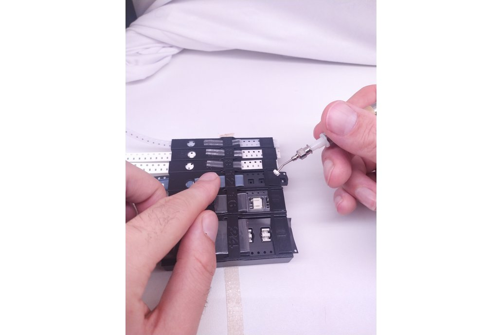 Interchangeable SMD tape holders for Pick & Place 1