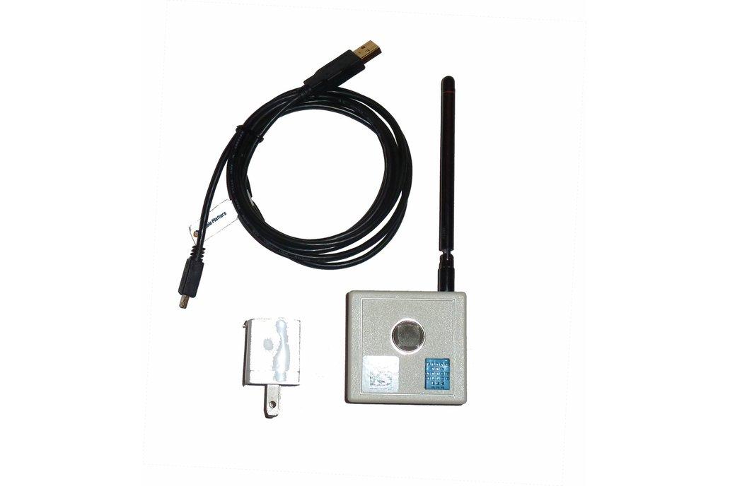 Wireless MQ2 Combustible Gas sensor  3