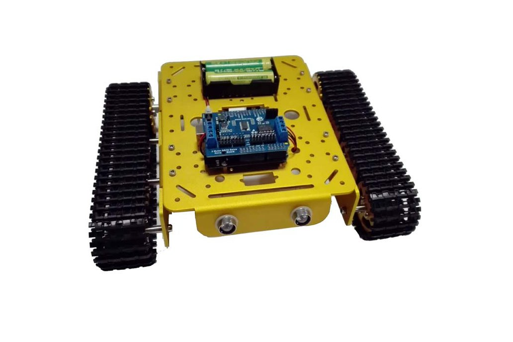 Arduino wifi Metal T200 Crawler Tank 3