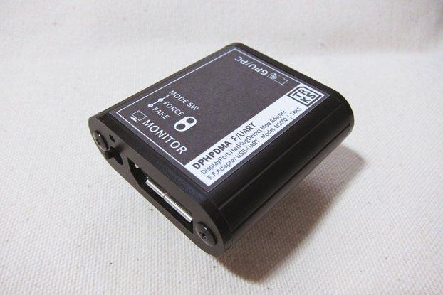 DPHPDMA F/UART - DisplayPort HPD Mod Adapter