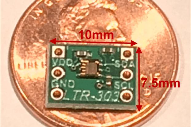 smSENSR-LTR-303 Ambient Light Sensor