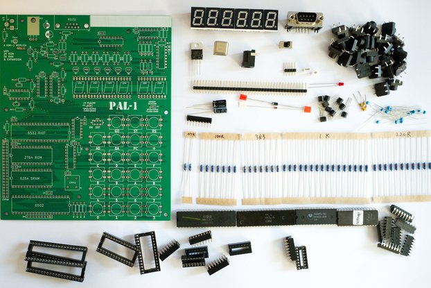 PAL-1 - A MOS 6502 powered Computer Kit