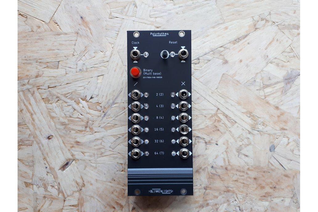 Polyrhythms Kit- Eurorack Clock Divider+Multiplier 1