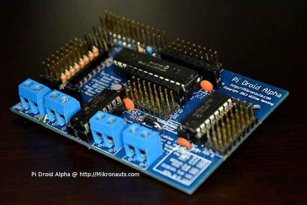 PiDroidAlpha Educational Controller 4 Raspberry Pi