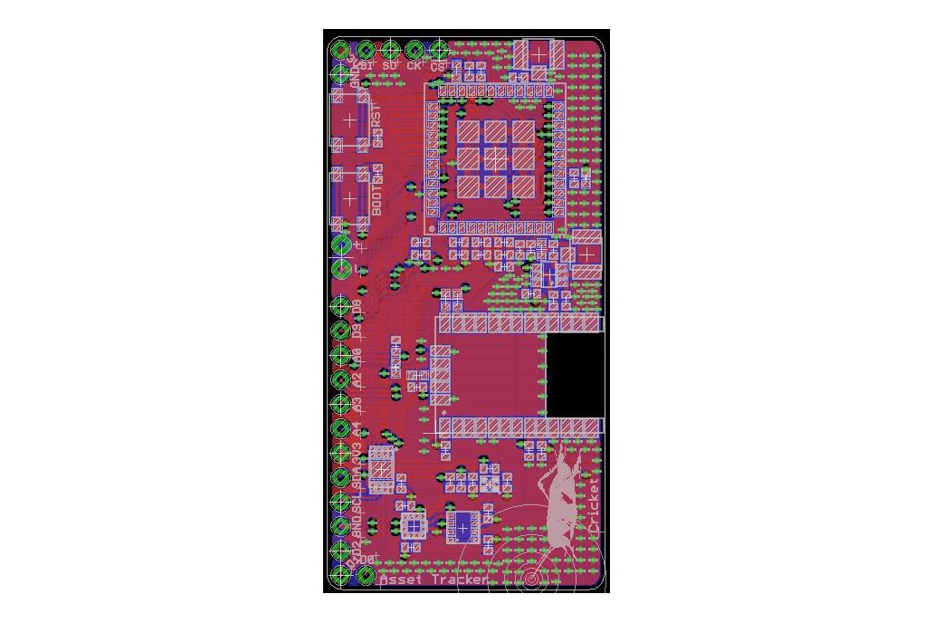 Cricket LoRaWAN/GNSS Asset Tracker 6