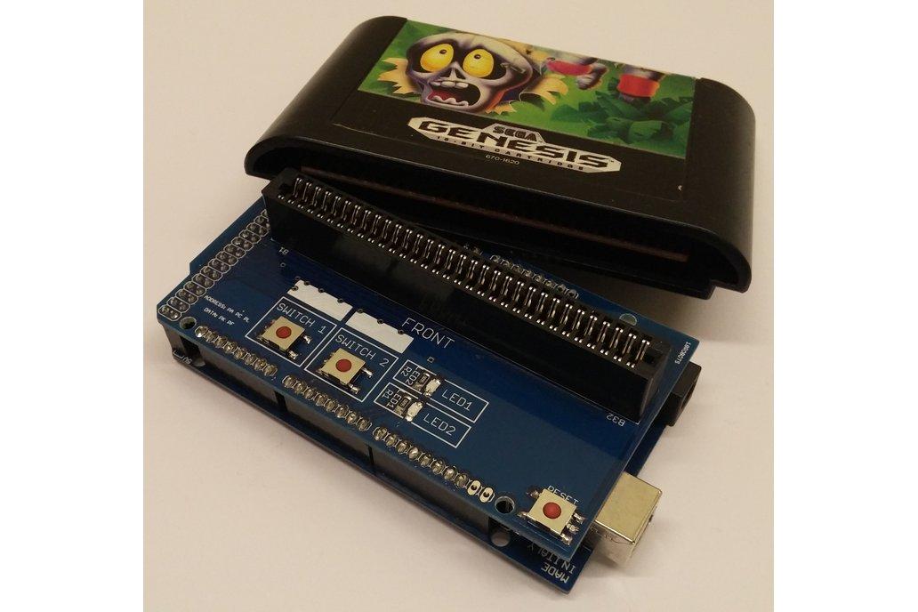 Arduino Mega Megadrive / Genesis Cart Shield 1