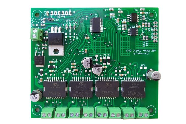 16-channel 2.8A each 9-24V DC I2C Load Driver