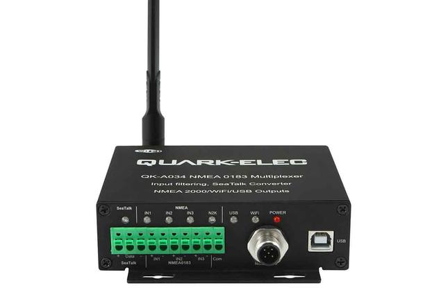 QK-A034 Bi-directional Gateway Multiplexer