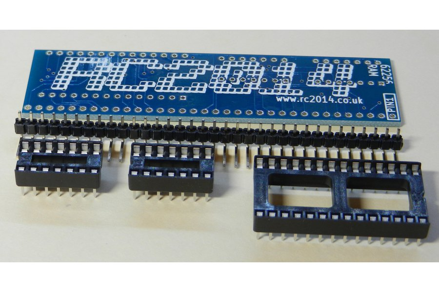 32K RAM Module For RC2014 - Z80 Homebrew Computer