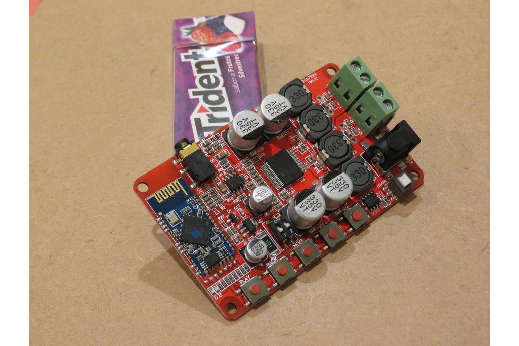 Bluetooth 4 power amplifier portable speaker DIY 1