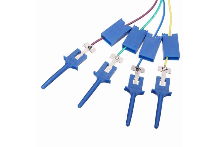 12Pc Test Clamp Wire Hook for Logic Analyzer