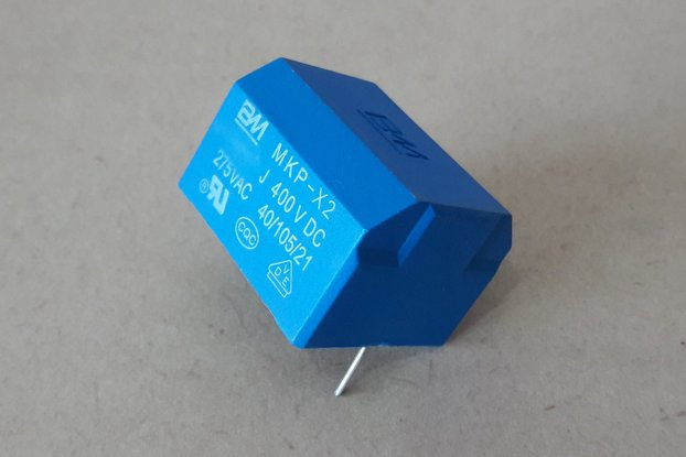 10uF EMI/RFI Suppression Capacitor X2