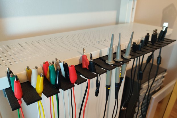 Test Lead Holders for Electronics Lab