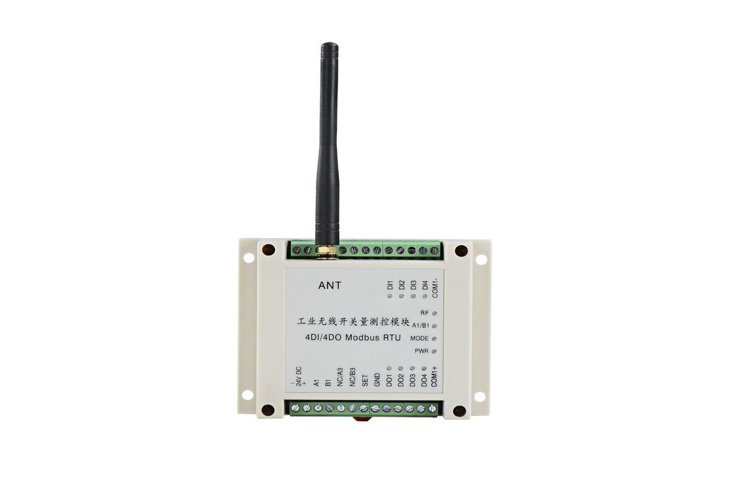 4DI 4DO wireless Modbus RTU 433MHz ON-OFF Control  1