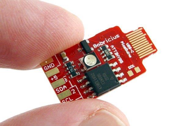 USB-C PicoDuino Attiny85 arduino & RGB led