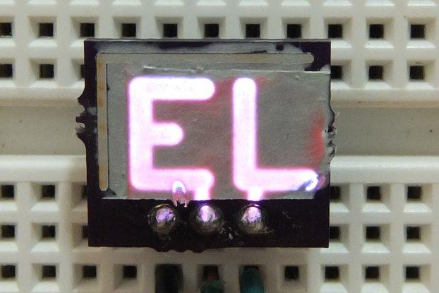 EL Display on PCB Kit