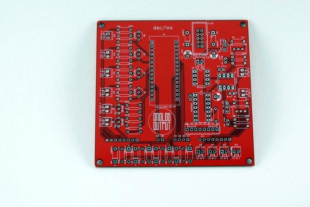Analog Output dac/ino (red)