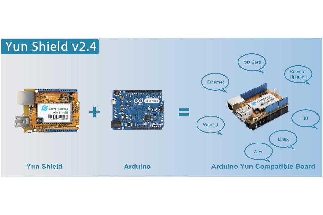 Arduino Yun Shield v2.4 2
