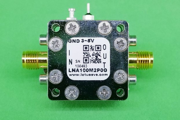 Amplifier LNA 0.45dB NF 100MHz to 2GHz