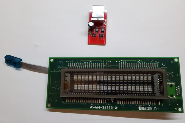 TTL Serial to RS-485 PCB and IEE VFD Display