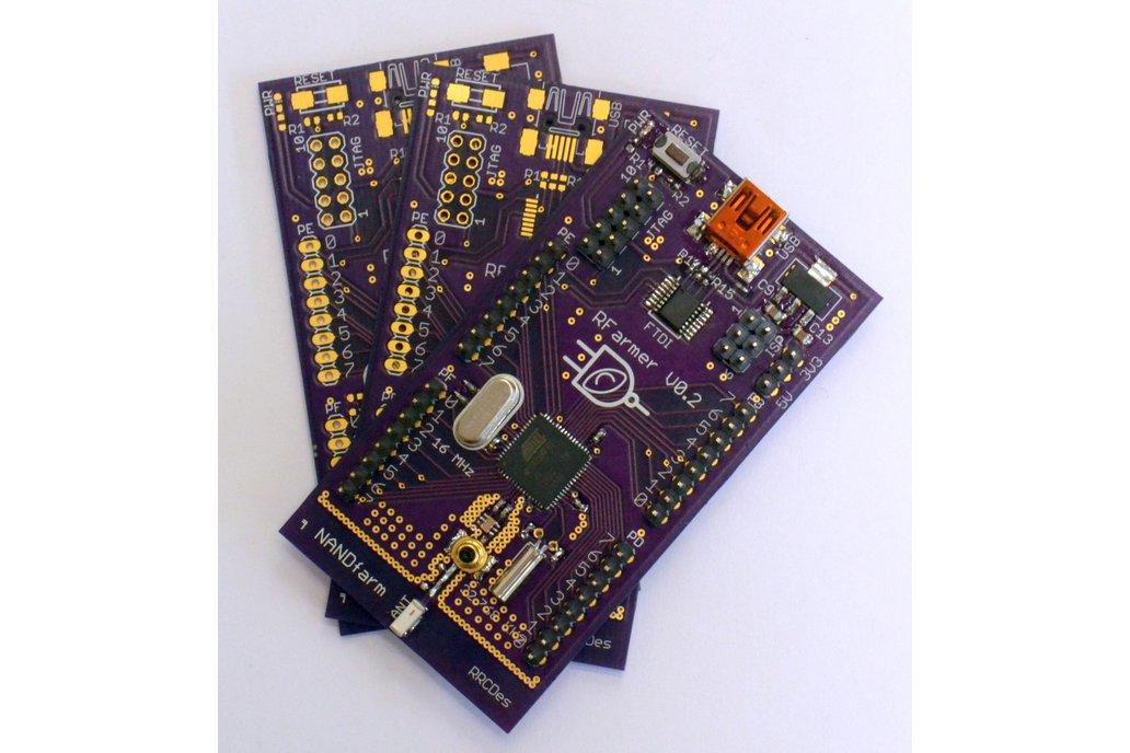 RFarmer ATmega256RFR2, 2.4 GHz ZigBee Transciever 1