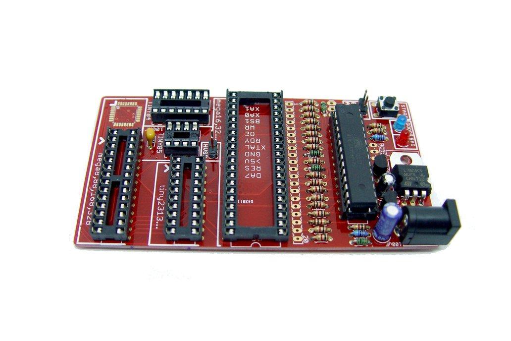 Bare PCB AVR fuse bit doctor HVPP  HVSP fix repair 7