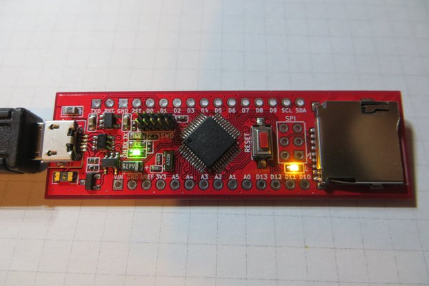 SAMDuino M0-SD mini Board Arduino M0 compatible