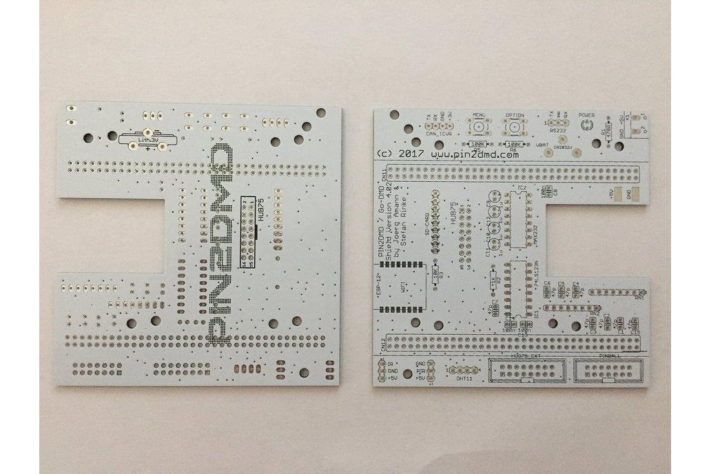 Pin2DMD / goDMD v4.02 bare PCB for NUCLEO-144 1
