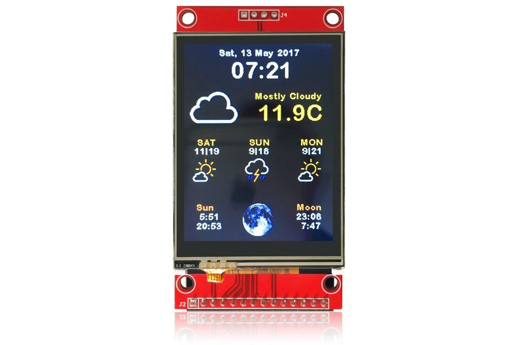 ESP8266 WiFi Color Display Kit 2.4″ 1