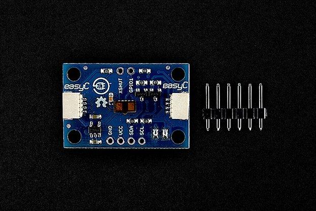 Laser distance sensor ToF VL53L1X (made by er.io)