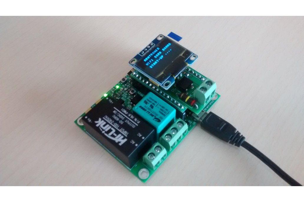 Wifi Esp8266 Smart Switch with Single Relay Board 1