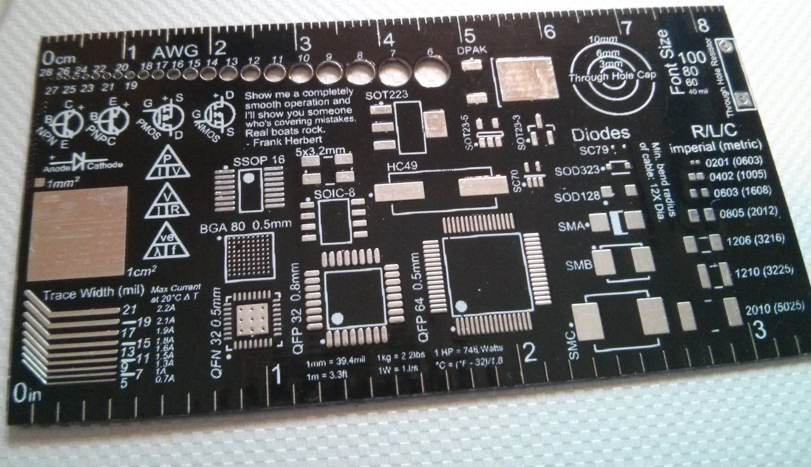 10x Custom PCB Business Card from Mr. Robot on Tindie