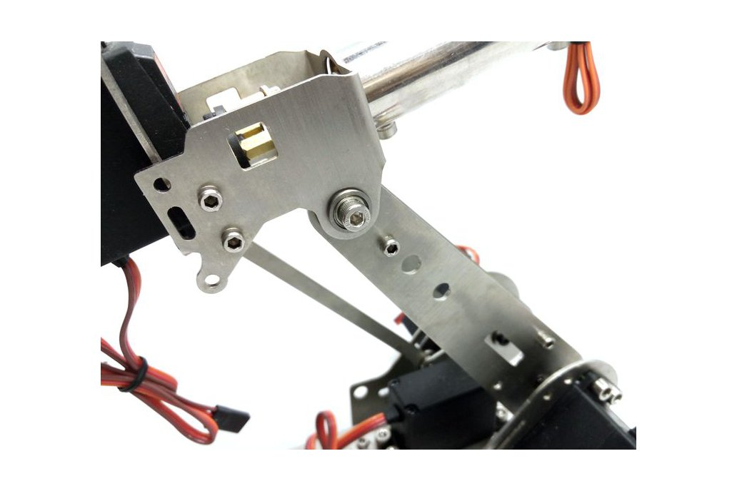 Stainless Steel 6 DoF Metal Robot Arm 2