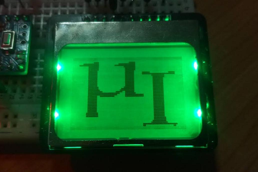 RGB Nokia 5110 LCD Board 1